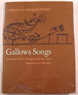 Gallows Songs: Morgenstern, Christian. Illustrated
