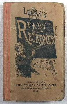 Leary's Improved Ready Reckoner, Form Book and: Leary, Stuart &