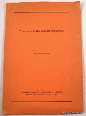 Avicenna and His Cultural Background