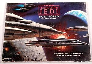 Star Wars: Return of the Jedi Portfolio: McQuarrie, Ralph. Based