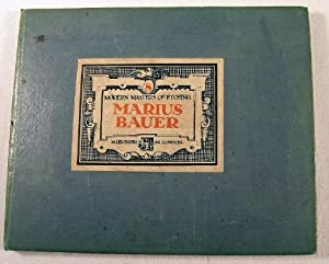 Marius Bauer. Modern Masters of Etching Number: Bauer, Marius. Introduction