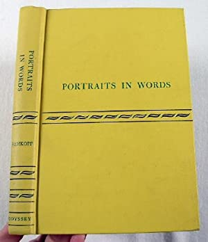 Portraits in Words: An Introduction to the Study of Biography