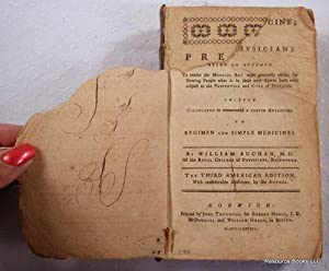 Domestic Medicine; or, the Family Physician: Being an Attempt to Render the Medical Art More Gene...