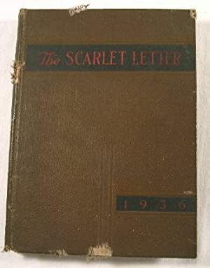 The Scarlet Letter 1936 - Rutgers University Class Book or Yearbook
