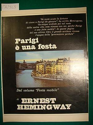Parigi è una festa - Dal volume: Hemingway Ernest