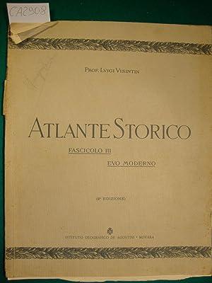 Atlante Storico - Fascicolo III - Evo: Visintin Luigi