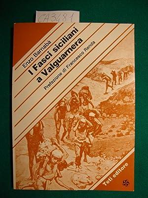 I fasci siciliani a Valguarnera: Barnabà Enzo