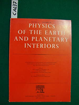 Physics of the Earth and planetary interiors (periodico)