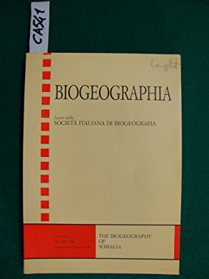 Biogeografia - The biogeography of Somalia (periodico)