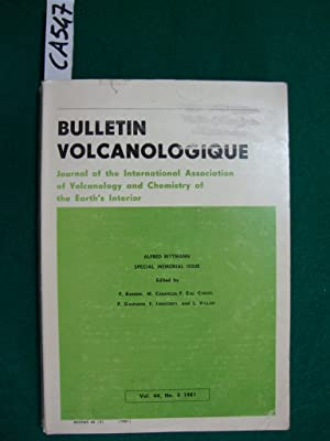 Bulletin volcanologique - Journal of the International Association of Volcanology and Chemistry o...