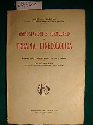 Consultazione e formulario di terapia ginecologica: Sénéchal Marcello