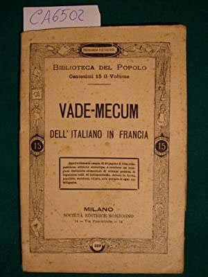 Vade.mecum dell'italiano in Francia