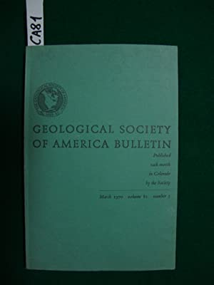 Geological society of America bulletin (periodico)