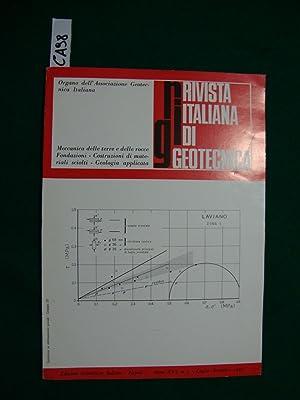 Rivista italiana di geotecnica - (Organi dell'Associazione: AA.VV.