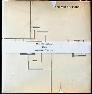 Mies Van Der Rohe The Art of: Werner BLASER [