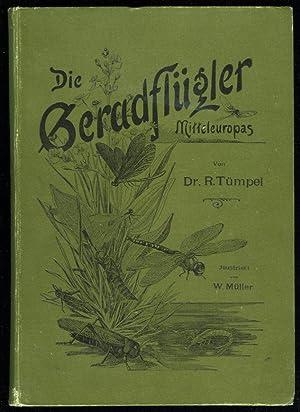 Die Geradflügler Mitteleuropas Mit 20 von W.: TÜMPEL, R.