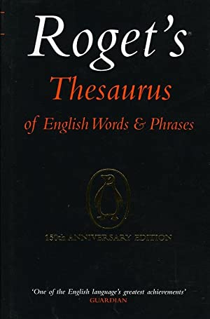 Roget's Thesaurus of English Words and /: Davidson, George