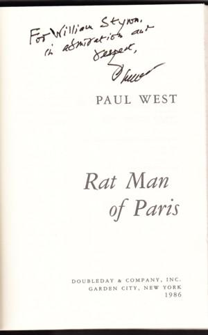 RAT MAN OF PARIS: West, Paul