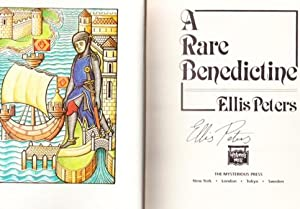 A RARE BENEDICTINE. THE ADVENT OF BROTHER CADFAEL: Peters, Ellis