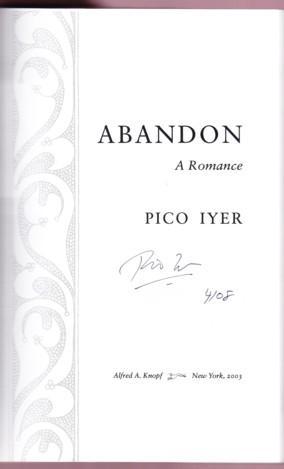 ABANDON: Iyer, Pico