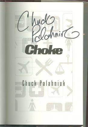 CHOKE: Palahniuk, Chuck