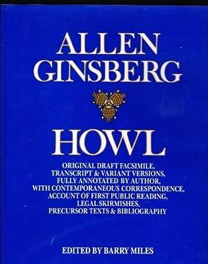 HOWL ORIGINAL DRAFT FASCIMILE, TRANSCRIPT & VARIANT: Ginsberg, Allen
