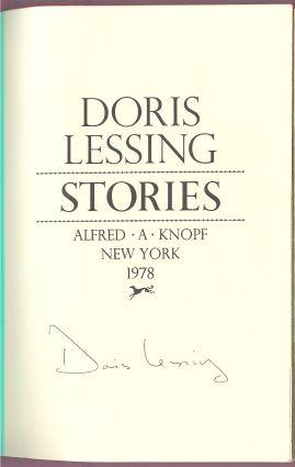 STORIES: Lessing, Doris