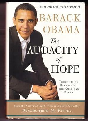 THE AUDACITY OF HOPE: Obama, Barack