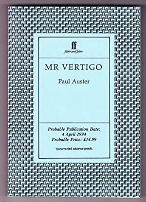 MR. VERTIGO: Auster, Paul