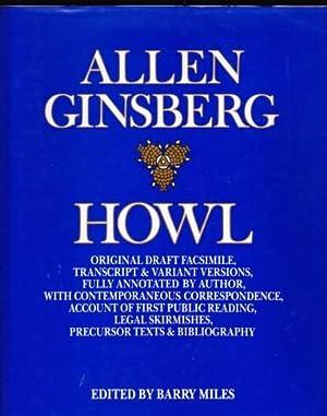 HOWL. ORIGINAL DRAFT FASCIMILE, TRANSCRIPT & VARIANT: Ginsberg, Allen