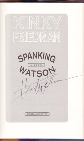 SPANKING WATSON: Friedman, Kinky