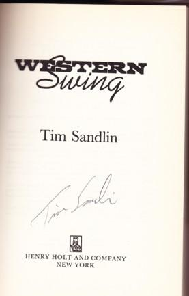 WESTERN SWING: Sandlin, Tim