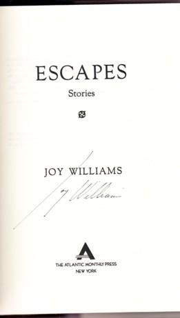 ESCAPES: Williams, Joy