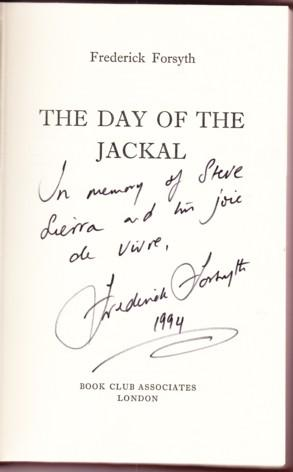 an analysis of the book the day of the jackal by frederick forsyth Zinnemann, working from frederick forsyth's bestseller, tells both sides of the  story that unfolds during the summer of 1963 the jackal.