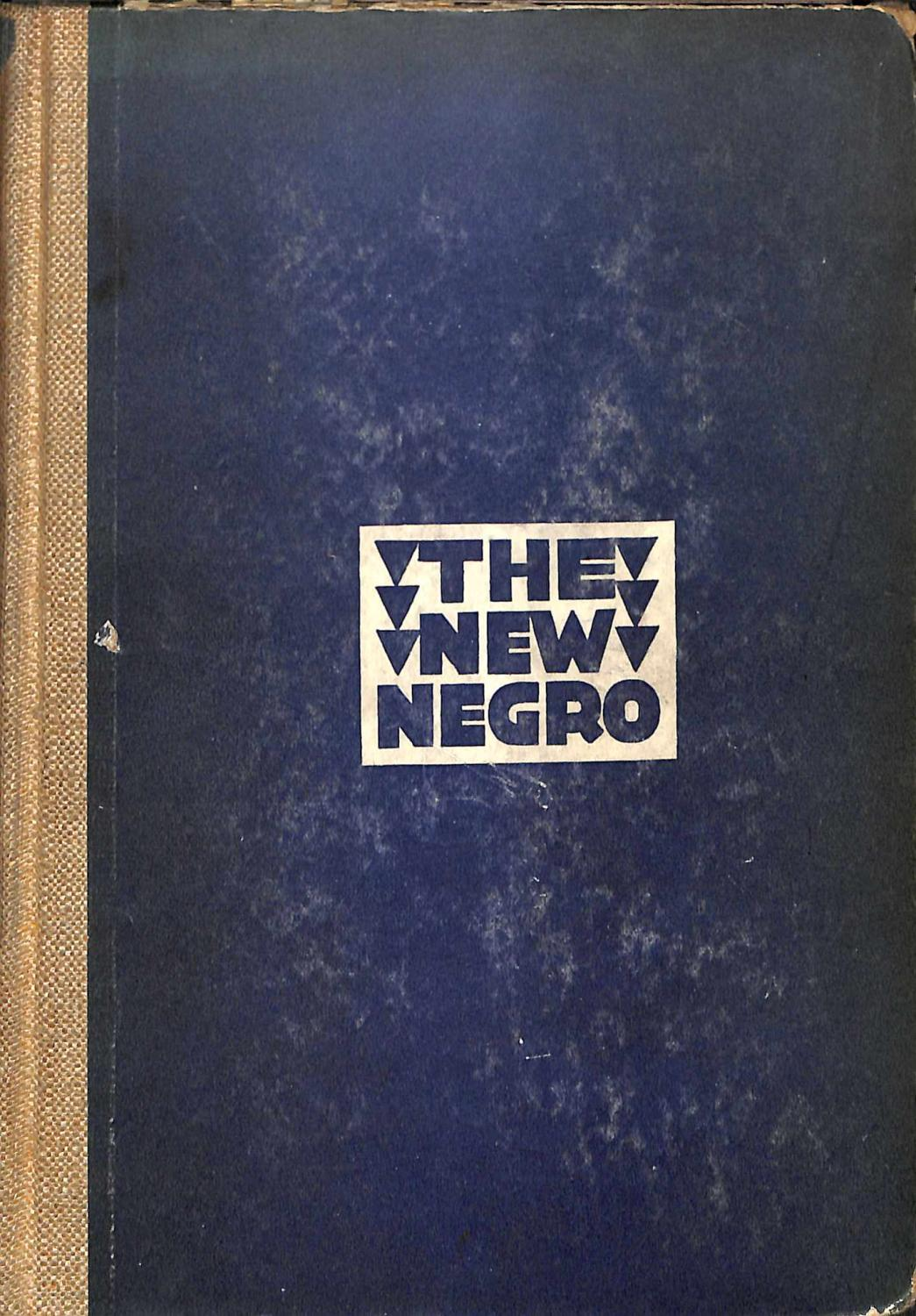 alain locke the new negro essay Old and new negro essaysin the age of slavery african-american men and  save your essays here so you can  in the passage the new negro by alain locke,.