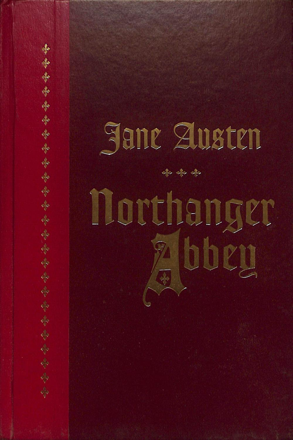 Jane Austen Northanger Abbey Book