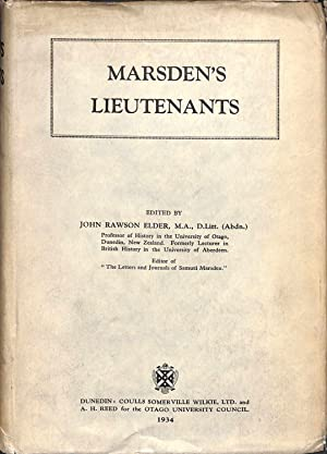 Marsden's Lieutenants: Elder, J R