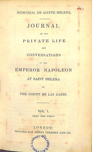 Journal of the Private Life and Conversations: Emmanuel Auguste DieudonnÃ