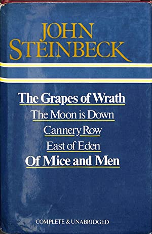 grapes of wrath and of mice The essential steinbeck : the grapes of wrath, cannery row, of mice and men | books, fiction & literature | ebay.