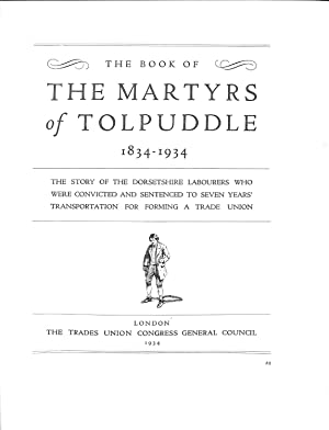 The Book of THE MARTYRS OF TOLPUDDLE: Various,