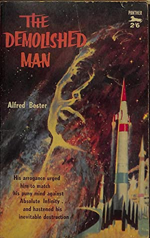 Image result for THE DEmolished man alfred bester COVER
