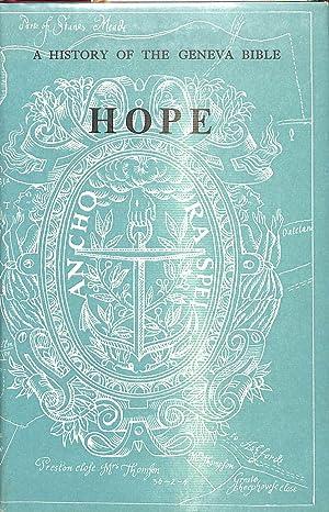 History of the Geneva Bible: Hope v.: Lupton, L.F.