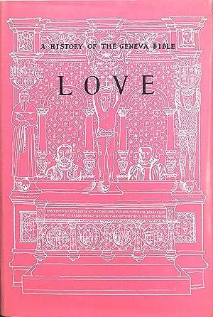 A History of the Geneva Bible, Volume: Lupton, L