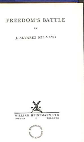 Freedom's Battle: Julio Alvarez Del