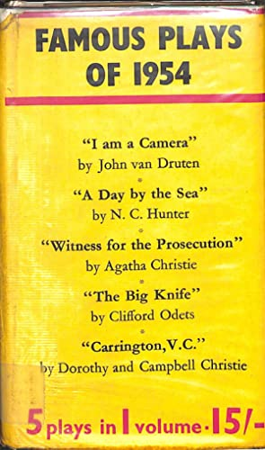 Famous Plays Of 1954: Christie, Agatha
