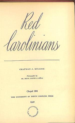 Red Carolinians,: Chapman James Milling