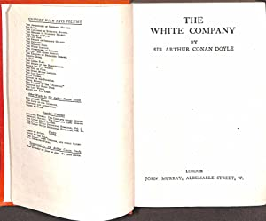 The White Company (Conan Doyle Uniform Edition): CONAN DOYLE ARTHUR.