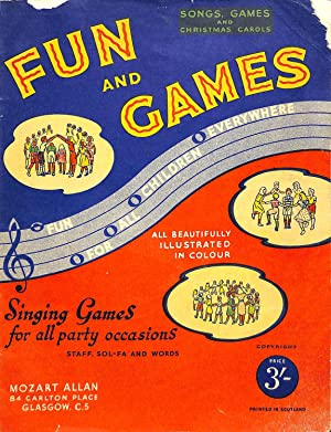 Songs For Children Fun and Games With: Mozart Allan
