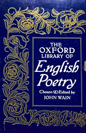 The Oxford Library of English Poetry (Box: Chosen and edited