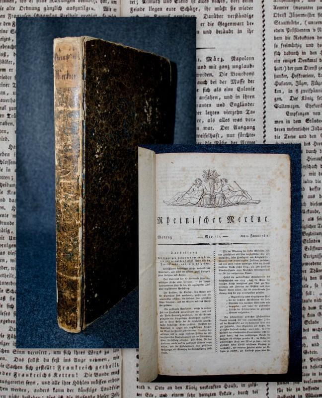 Rheinischer Merkur. 90 Hefte, Nummern 172-261 vom: Görres - Rheinischer